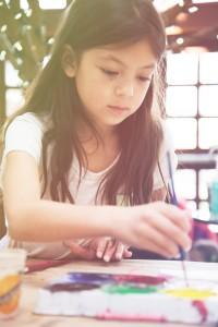 girl painting art