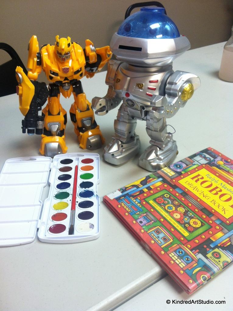 Still life Robots