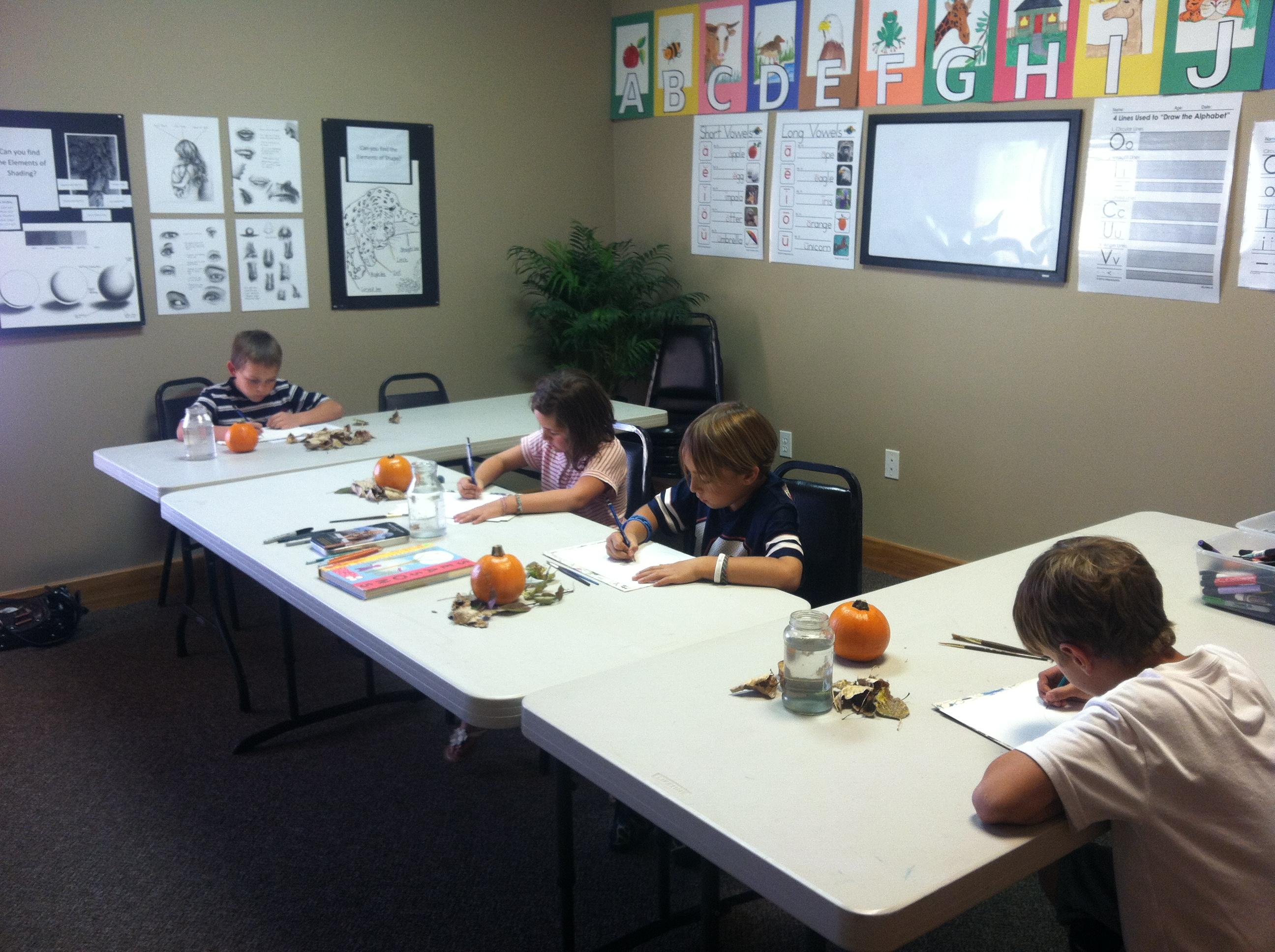 Pumpkins 8-12 year old class